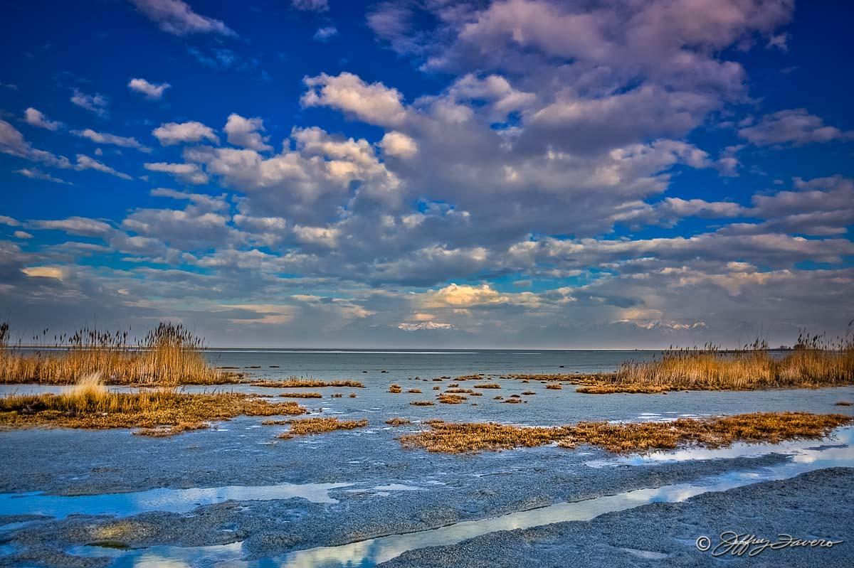 Great Salt Lake Shoreline Jeffrey Favero Fine Art
