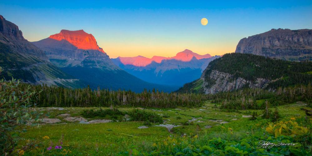 Moonrise Glacier NP