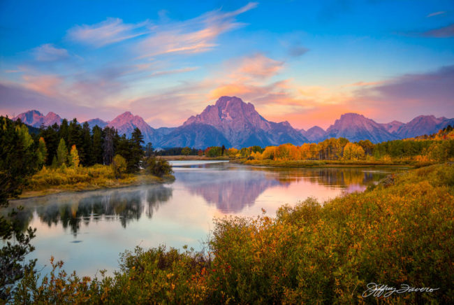 Dawn Twilight - Oxbow Bend