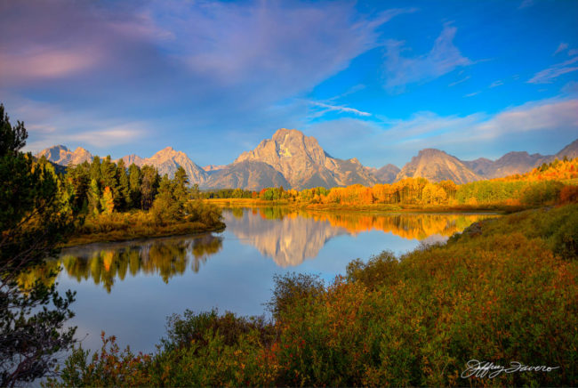Sunrise Serenity - Oxbow Bend