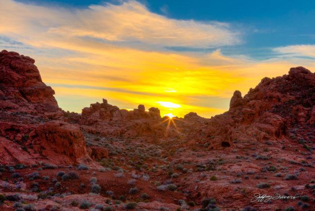 Sunset Afire