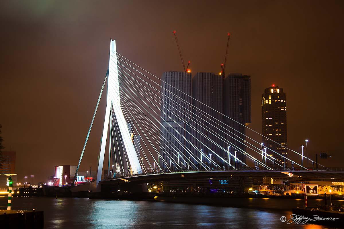 Erasmus Bridge Rotterdam Netherlands Jeffrey Favero