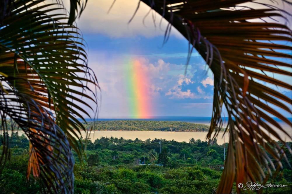 Rainbow Over Sun Bay
