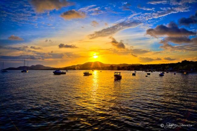 Esperanza Harbor Sunset