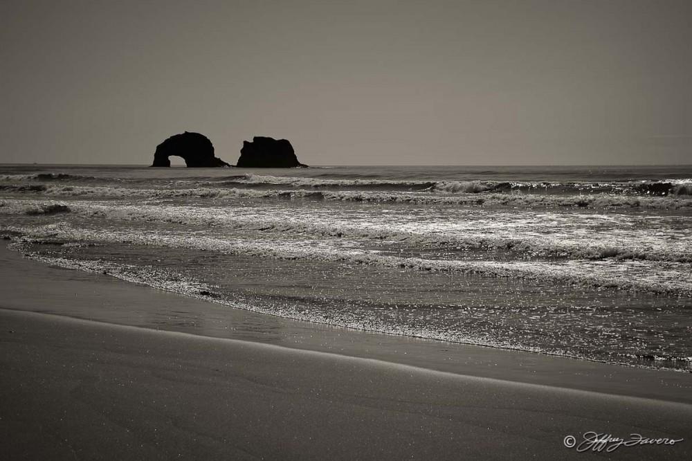 Rolling Oregon Coast Waves