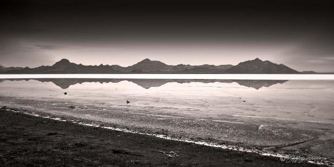 Silver Island Mountains Reflection