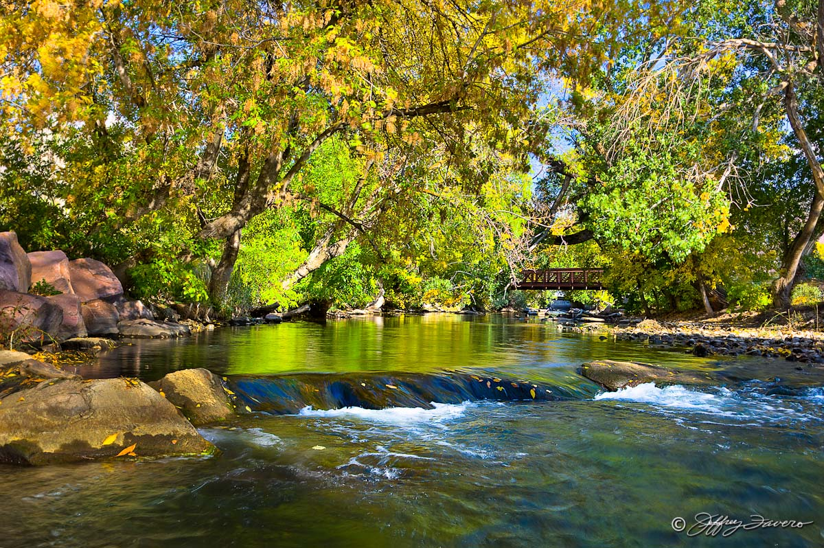 Early Autumn Ogden River Jeffrey Favero Fine Art Photography