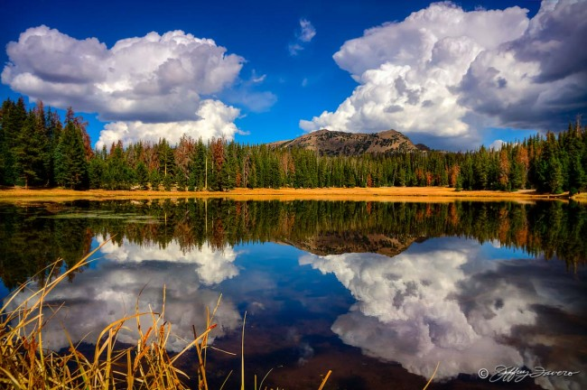 High Uinta Cloud Reflection