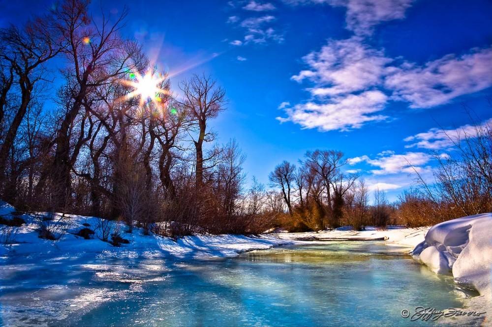 Blacks Fork Winter Afternoon