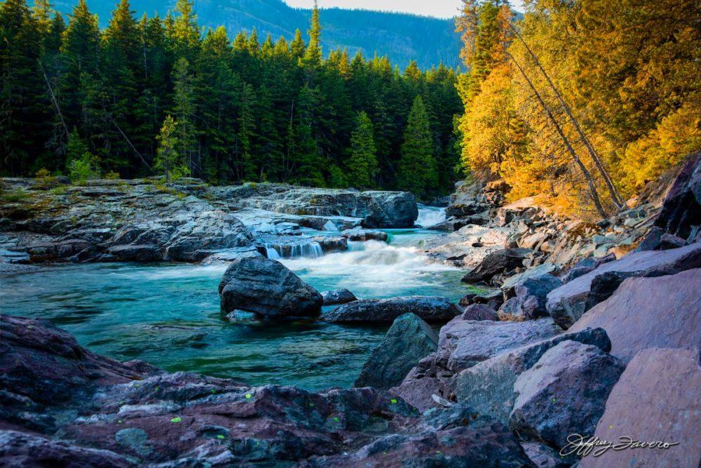 McDonald Creek - Glacier NP