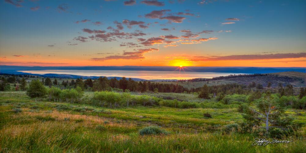 Sunrise Over Bear Lake