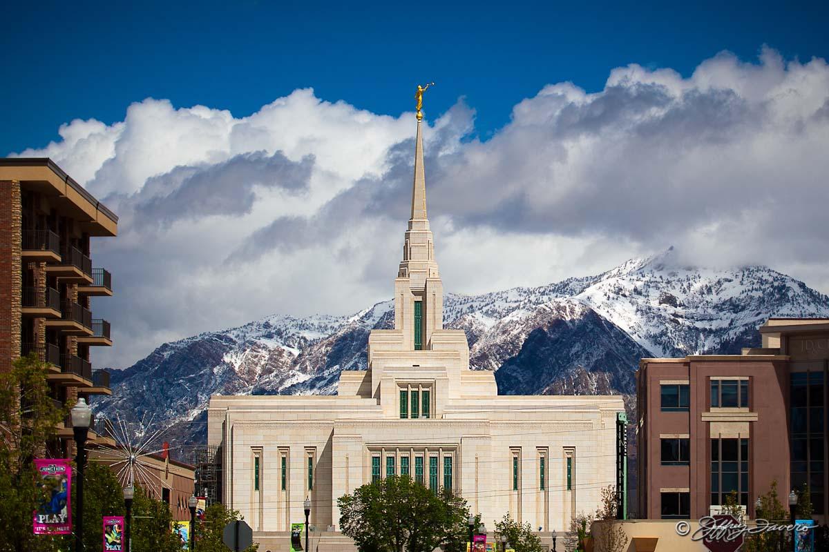 Ogden Utah Temple Jeffrey Favero Fine Art Photography