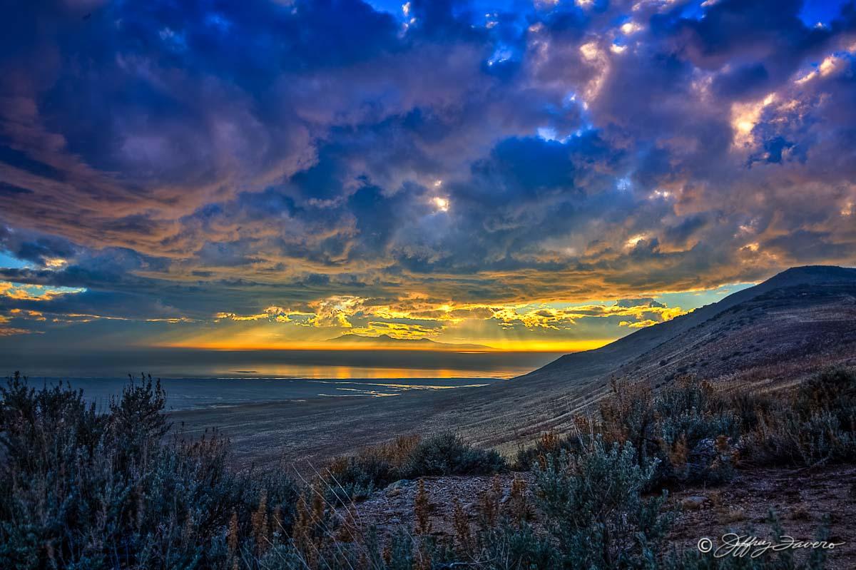 Antelope Island Sunset Jeffrey Favero Fine Art Photography