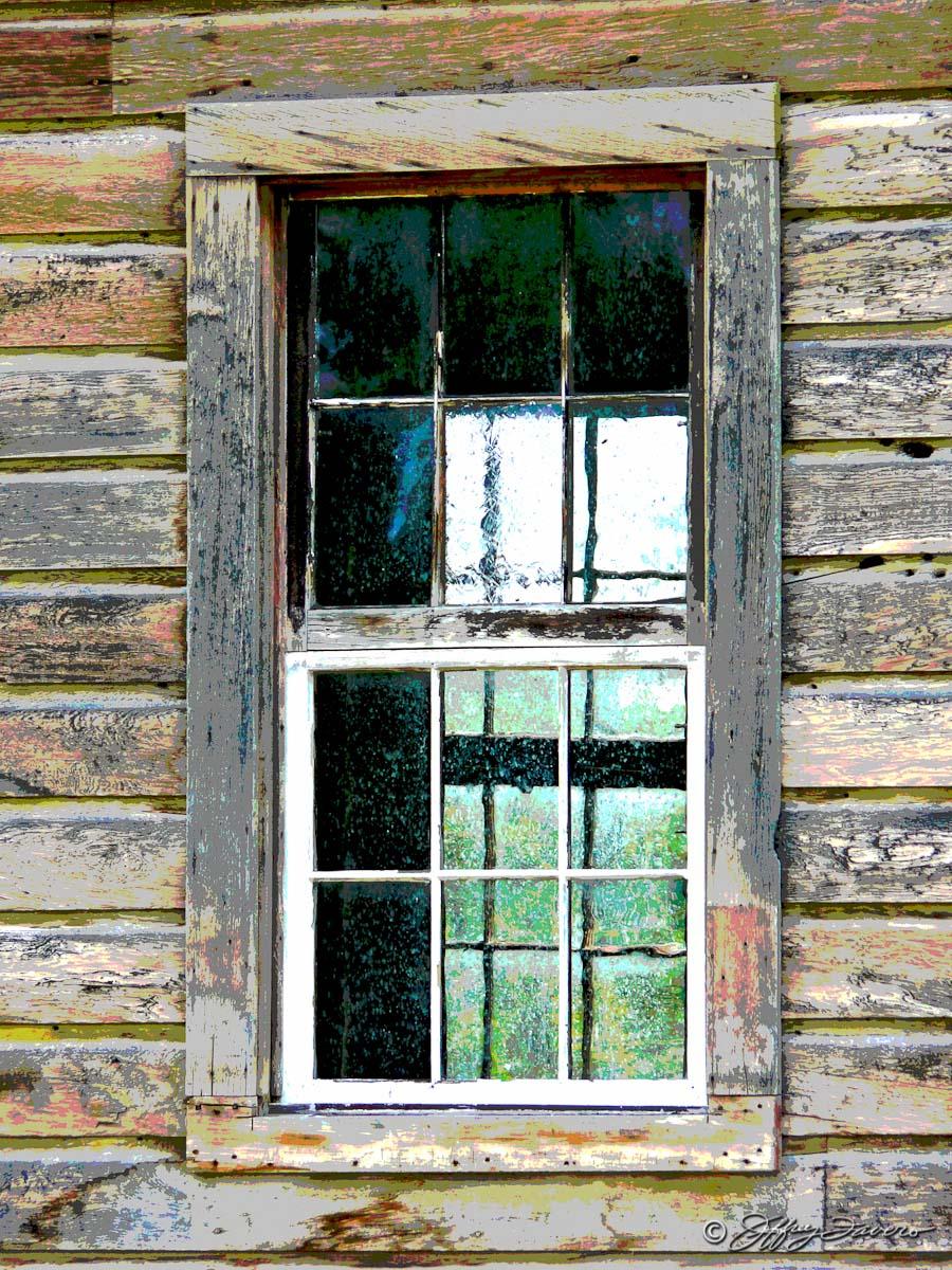 Pioneer Schoolhouse Window