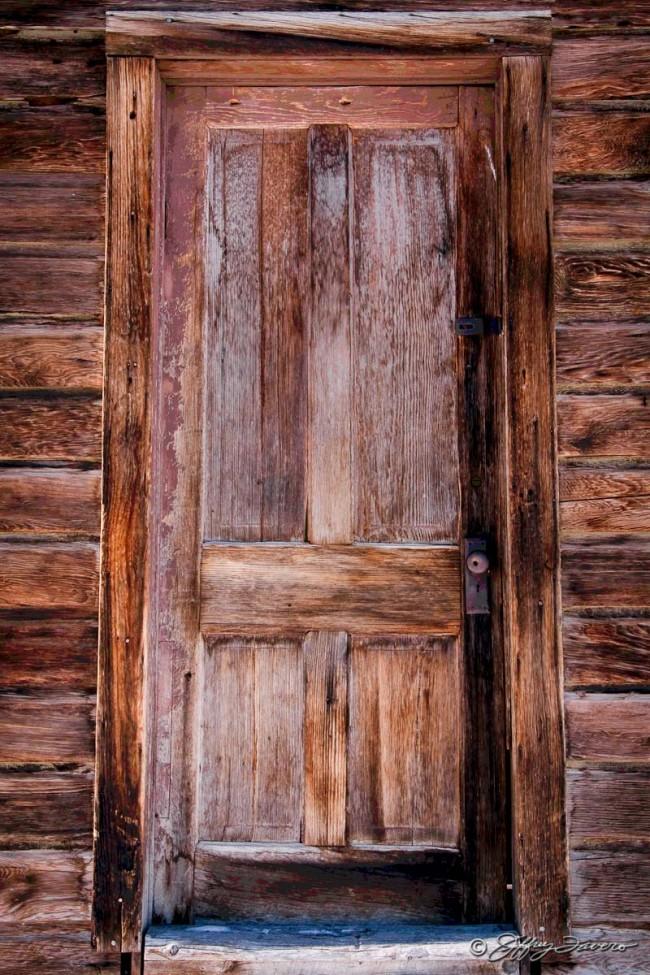Pioneer Schoolhouse Door