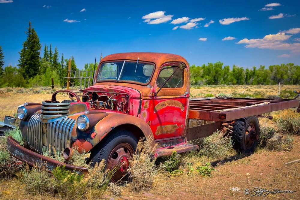 Abandoned Firetruck