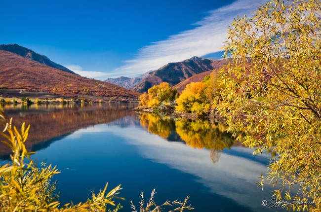 Fall Pineview Reflection