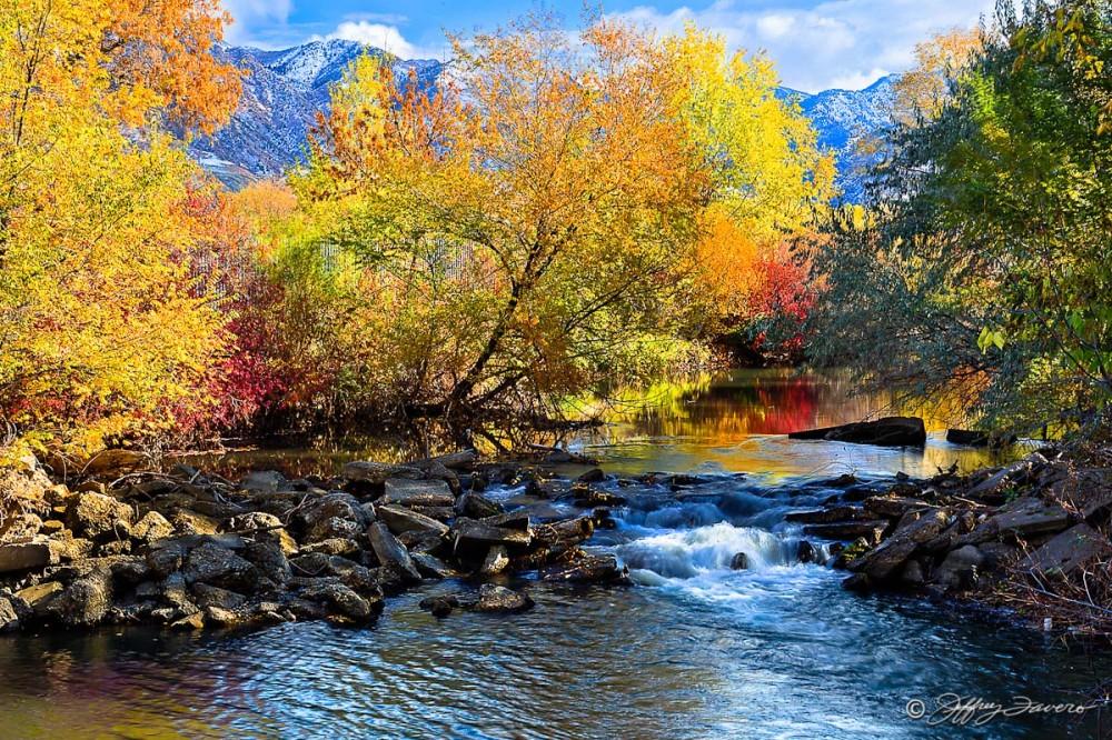 Fall Ogden River