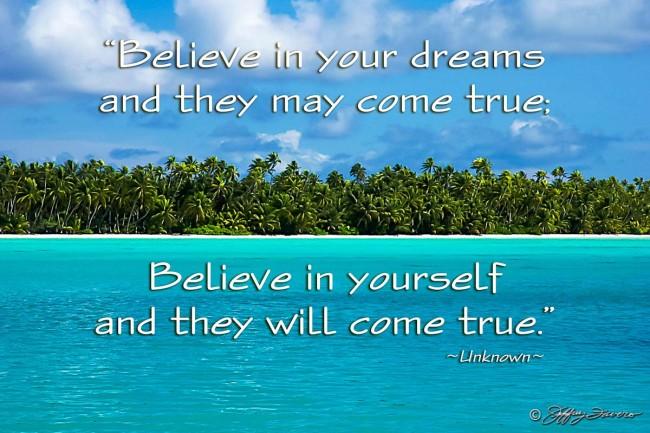 Believe In Yourself - Fanning Island