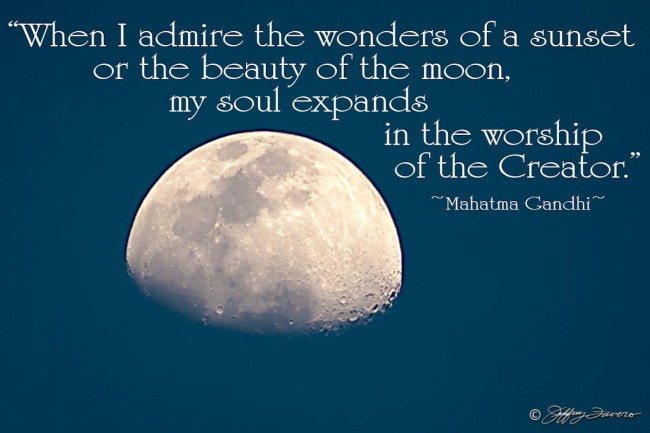 Worship Of The Creator - Moon