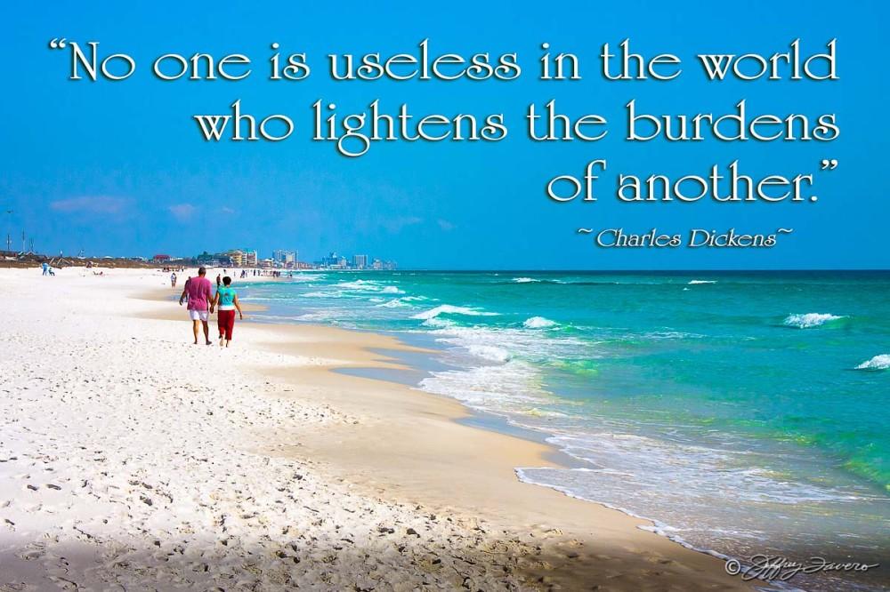 No One Is Useless - Ft. Walton Beach, Florida