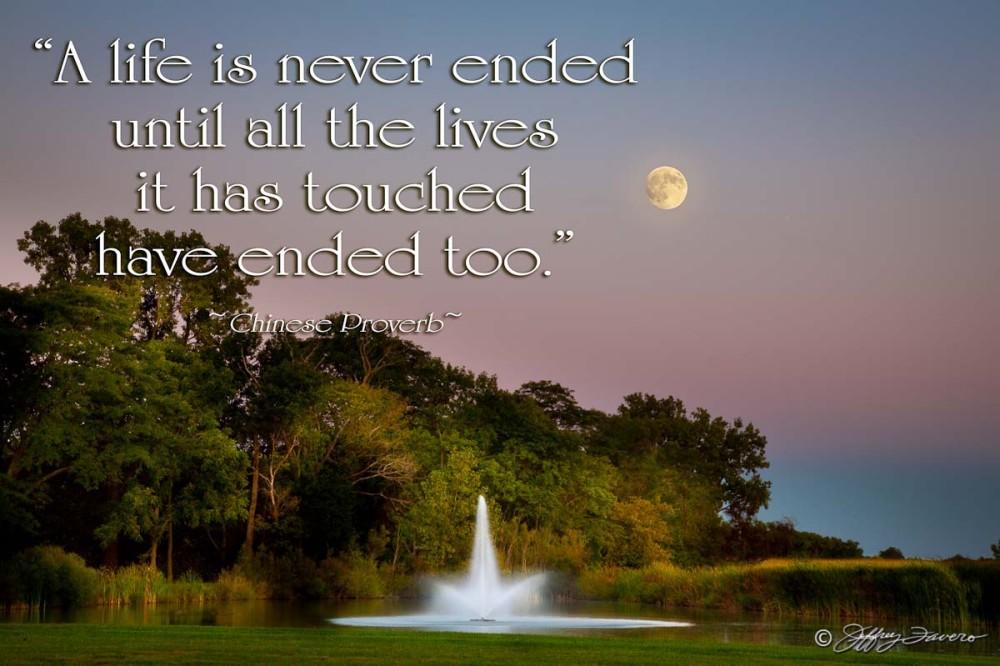 Life Is Never Ended - Full Moonrise Ohio
