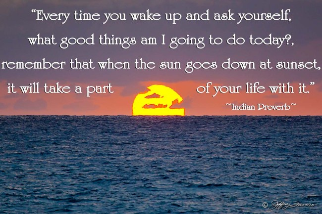 What Good Things - Sun On The Horizon