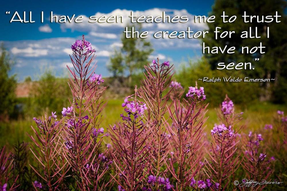 Trust the Creator - Emerson