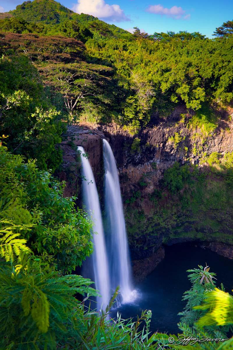 Wailua Falls Kaua I Hi Jeffrey Favero Fine Art