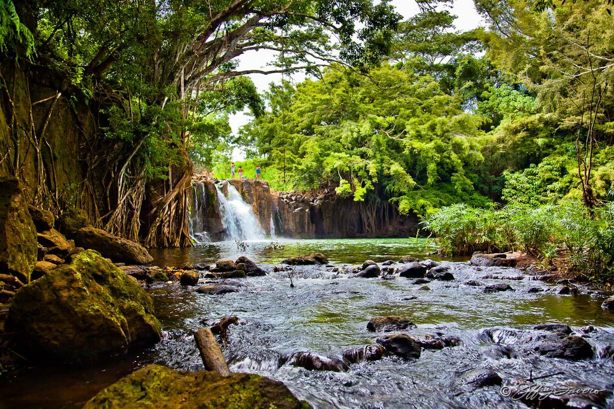Kipu Falls Kaua I Hi Jeffrey Favero Fine Art Photography