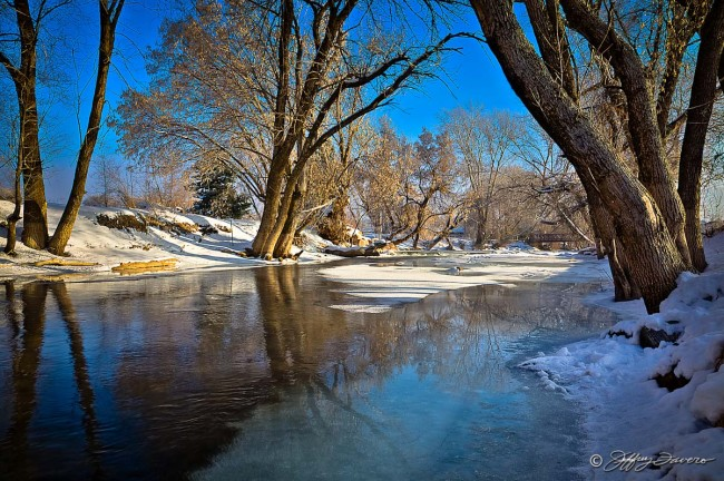 Winter Ogden River