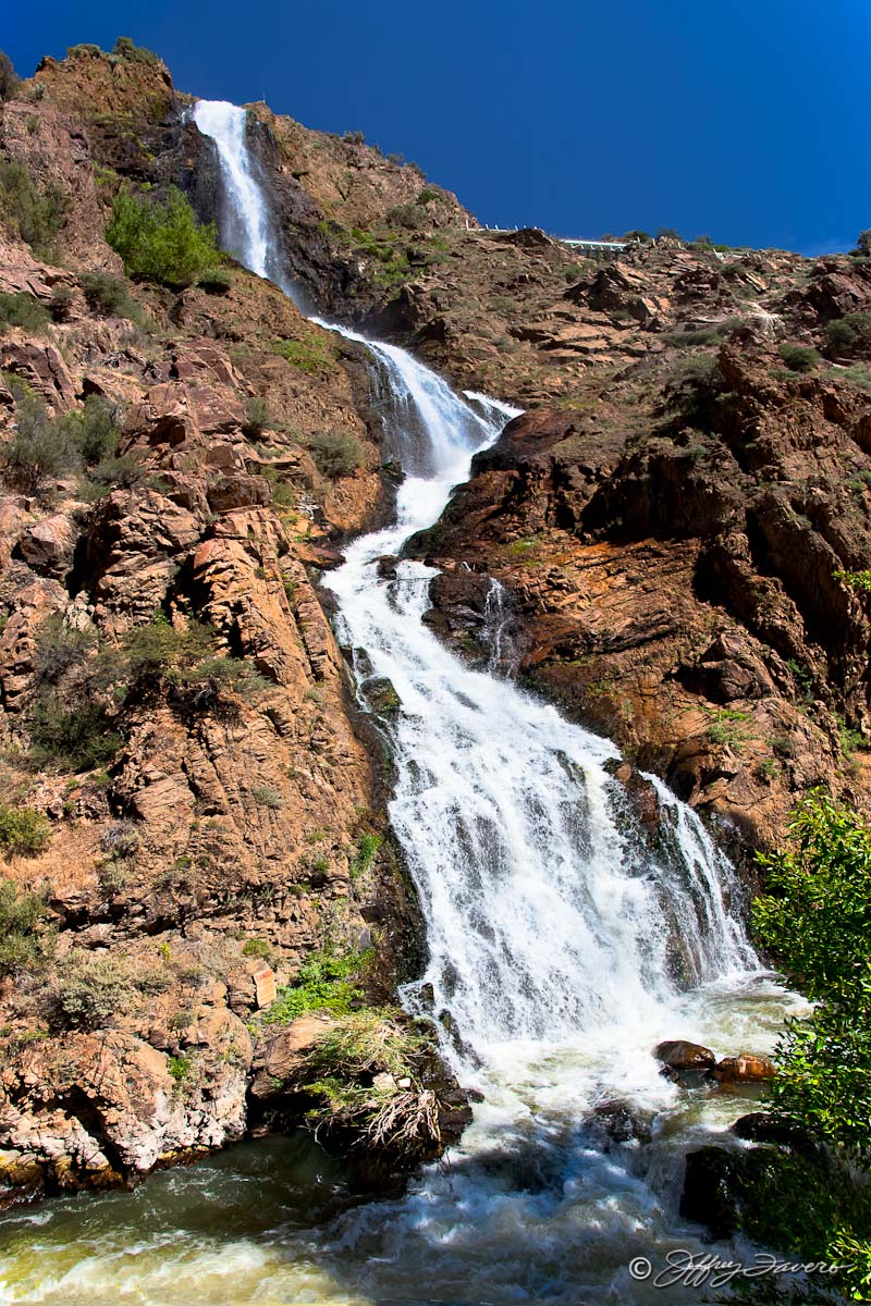 Ogden Canyon Waterfall Jeffrey Favero Fine Art Photography