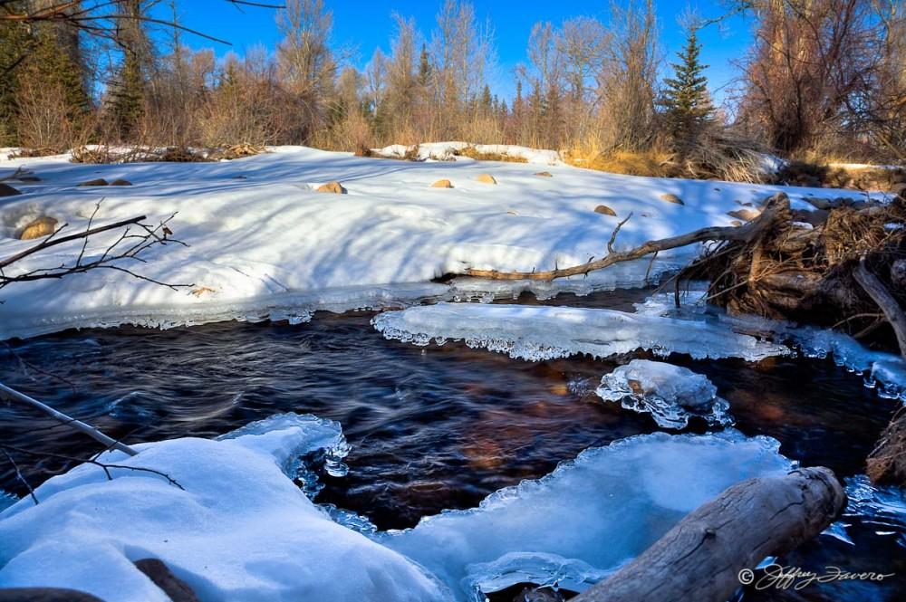 Ice On Blacks Fork