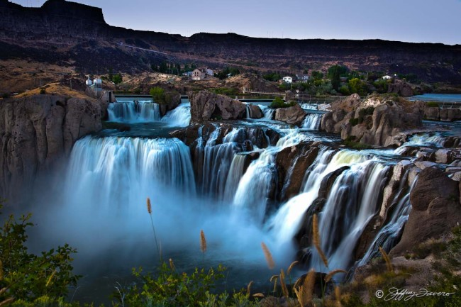 Shoshone Falls Niagara Of The West Jeffrey Favero Fine