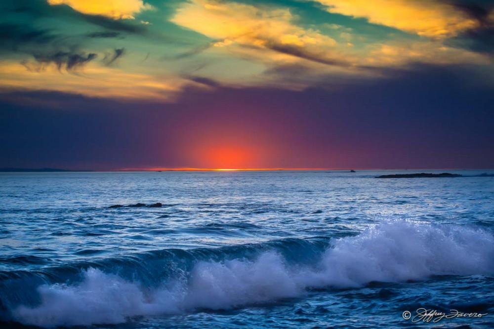 Sunset Beyond Crystal Cove