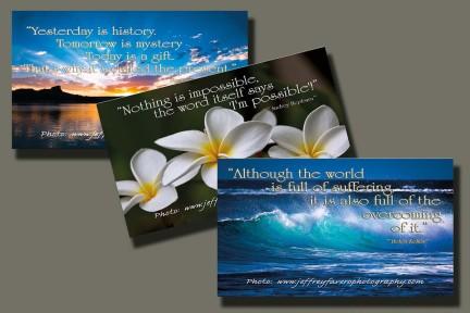 Inspirational Zen Cards