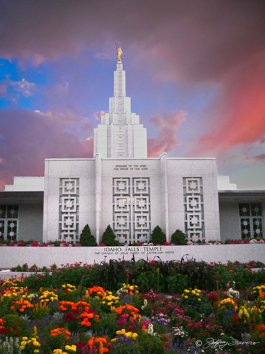 Idaho Falls Temple Jeffrey Favero Fine Art Photography