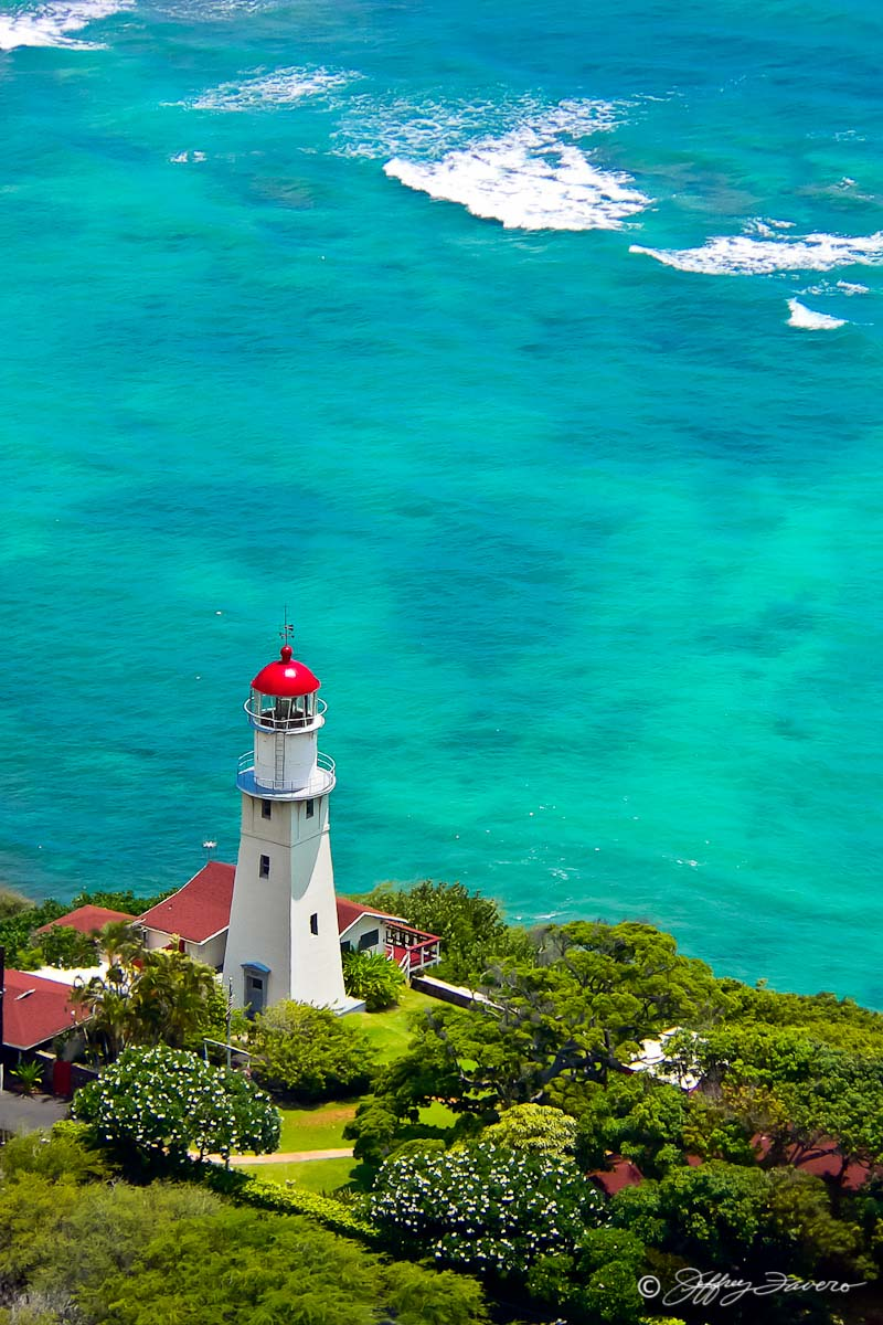 Diamond Head Lighthouse Jeffrey Favero Fine Art Photography