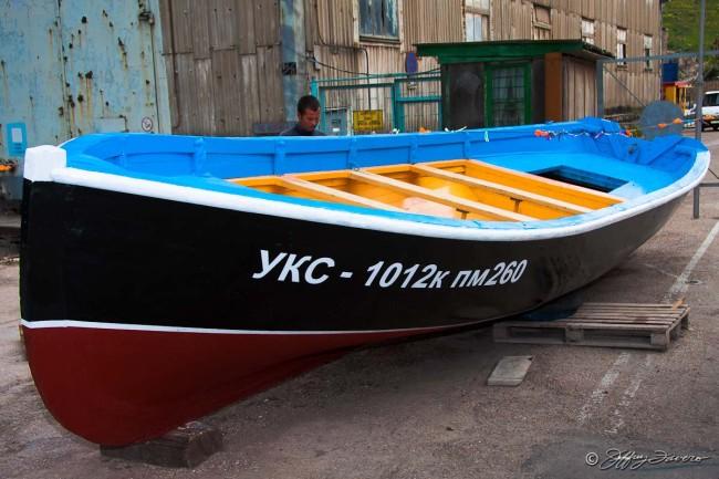 Balaklava Fishing Boat - Ukraine