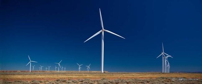 Bridger Butte Wind Turbines