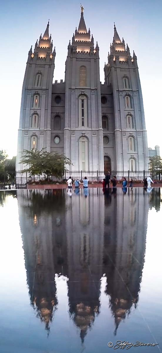 Salt Lake Temple Reflection
