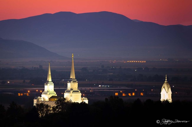 Brigham City Temple - Tabernacle Spires
