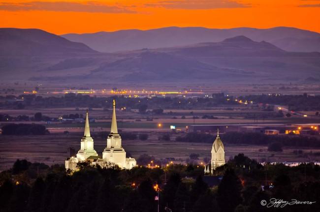 Brigham City Temple - Tabernacle Spires II