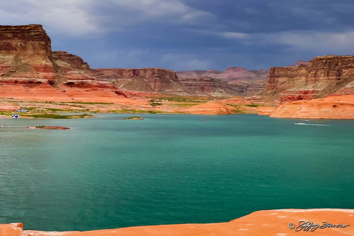 Gunsight Bay Glen Canyon National Recreation Area