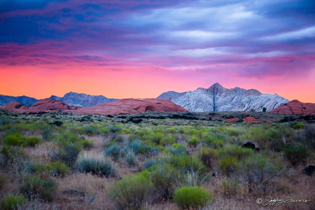 After Sunset - Snow Canyon State Park - St. George, UT