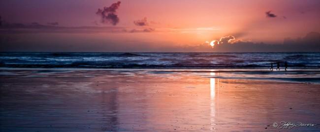 Cannon Beach Sunset Reflection