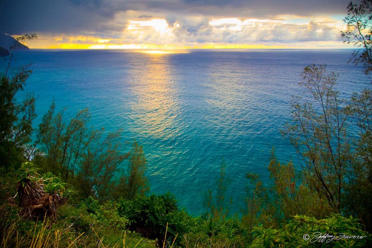 Na Pali Coast Kaua I Hawaii Jeffrey Favero Fine Art