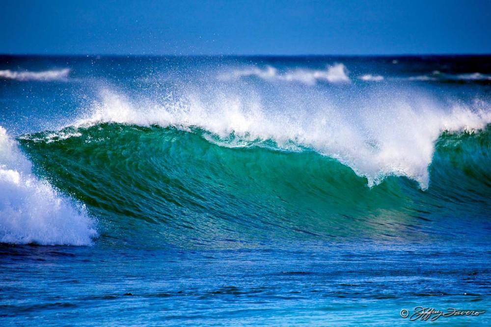 Sunset Beach Wave - Oahu, Hawaii