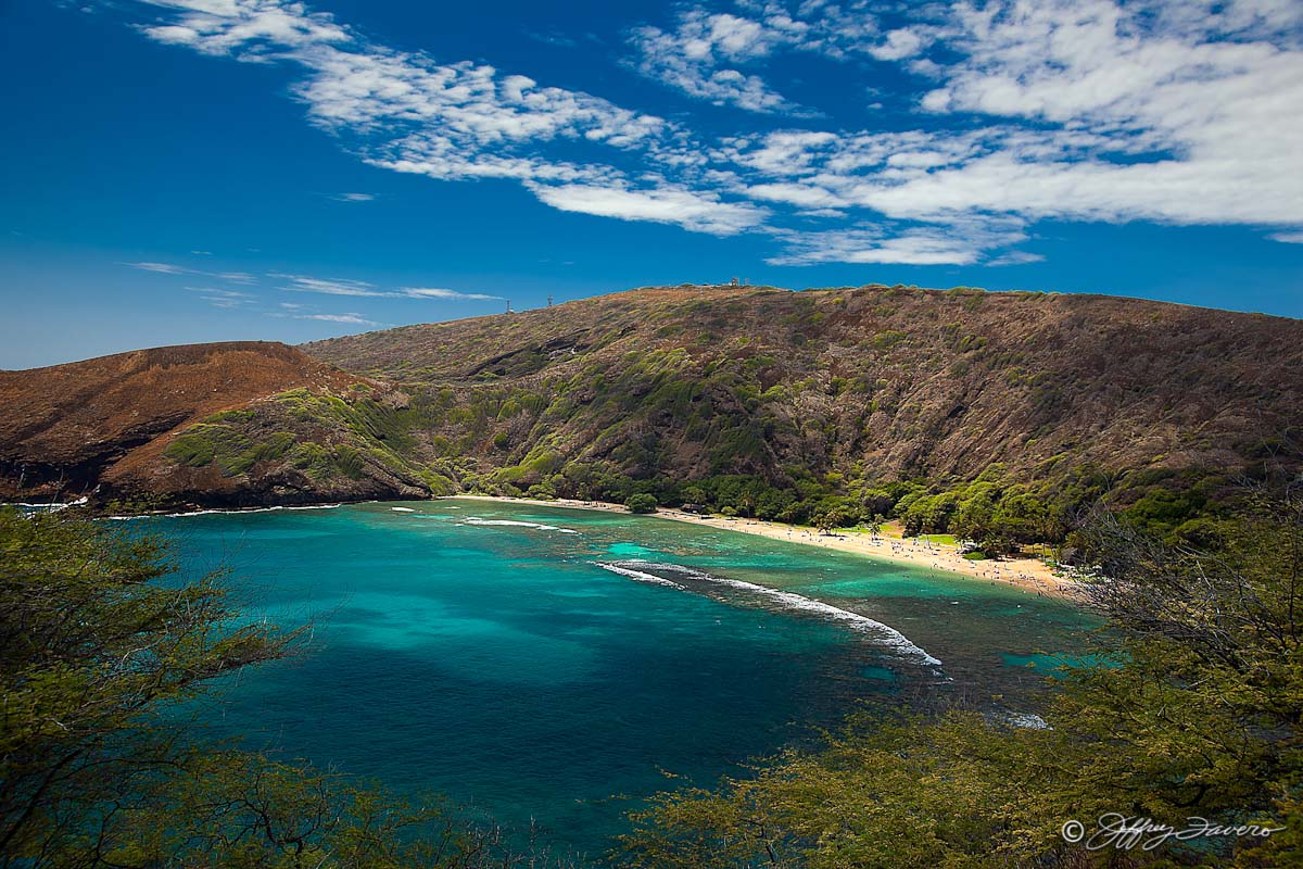 Hanauma Bay Oahu Hawaii Jeffrey Favero Fine Art