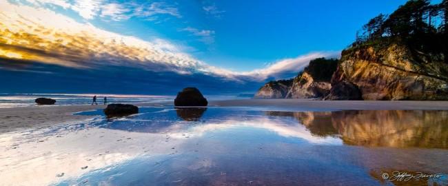 Hug Point National Recreation Site - Oregon
